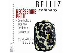 NECESSAIRE BELLIZ ONCA PEQ 15,5x8,5x10,5