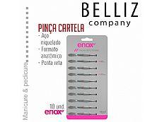 PINCA RETA CARTELA COM 10 UNID - ENOX