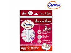 PANOS DE BOCA MENINA 35X35cm C/3UND