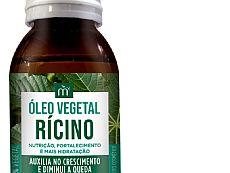 Óleo Vegetal Umectação capilar Rícino 60 ml
